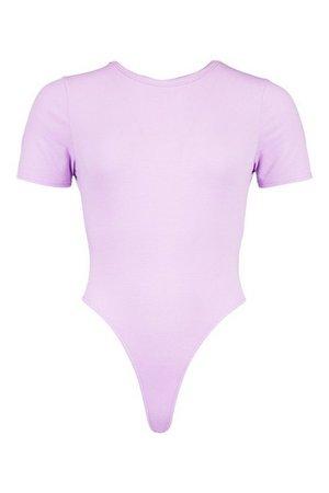 Recycled Basic Cap Sleeve Bodysuit | boohoo