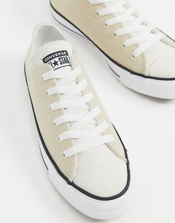Converse Chuck Taylor All Star Ox Renew sneakers in beige | ASOS