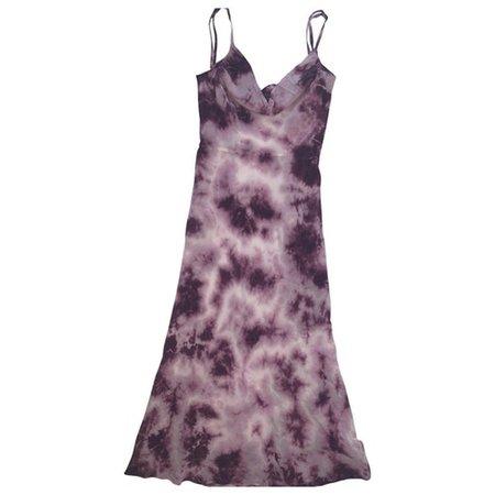 Capulet silk mid-length dress Réalisation Purple size XS International in Silk - 9181937