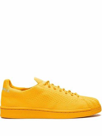 Adidas x Pharrell Superstar Primeknit Sneakers - Farfetch