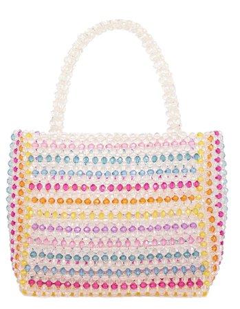 Striped Samira Tote Bag