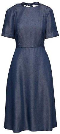 Tie-Back TENCELTM Dress