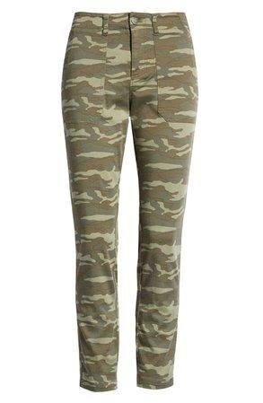 Caslon® Crop Utility Pants (Regular & Petite) | Nordstrom