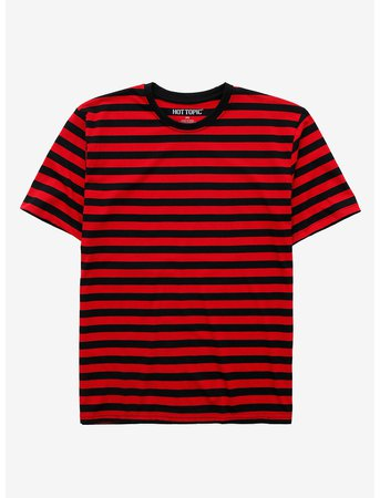 Red & Black Stripe T-Shirt