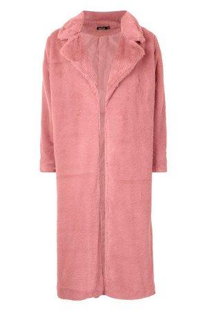 Maxi Faux Fur Coat | Boohoo