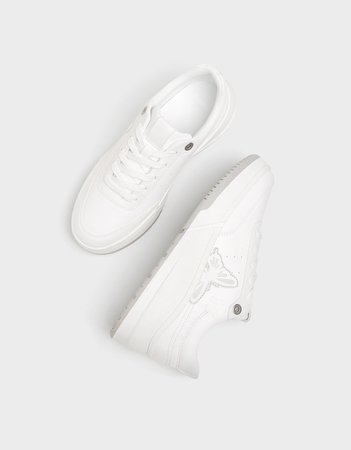Reflective butterfly sneakers. - New - Bershka United States