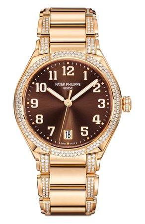 Женские бесцветные часы twenty-4 automatic PATEK PHILIPPE — купить за 4686300 руб. в интернет-магазине ЦУМ, арт. 7300/1201 R-010