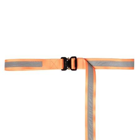 Orange neon sherbert belt