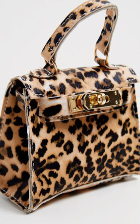 Leopard Print Mini Bag | Accessories | PrettyLittleThing USA