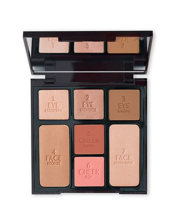 All-in-One Makeup Palette: Beauty Glow - Instant Look in a Palette | Charlotte Tilbury