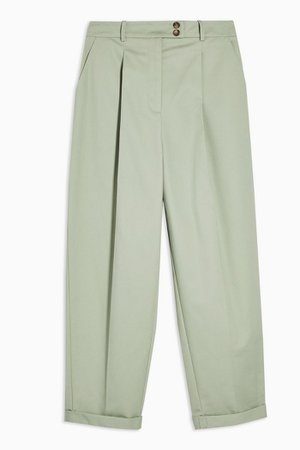 Chino Pants With Roll Hem | Topshop