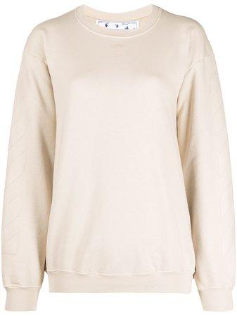 Off-White Arrows Motif Sweatshirt - Farfetch
