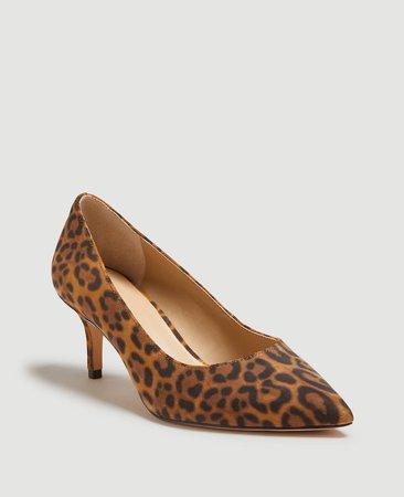 Louann Leopard Print Pumps | Ann Taylor