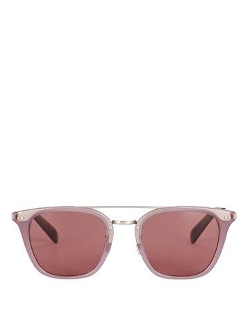 Oliver Peoples Frère Square Sunglasses   INTERMIX®