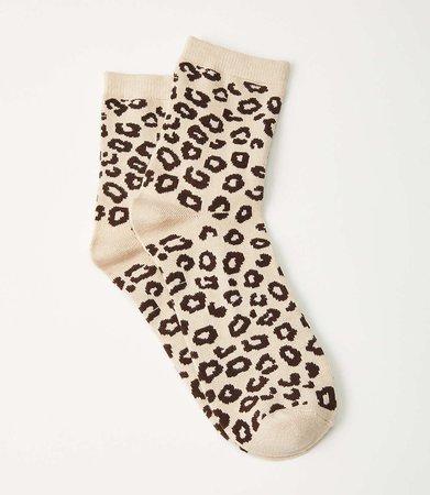 Cheetah Print Socks | Lou & Grey