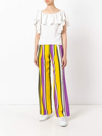 Sweden flared trousers