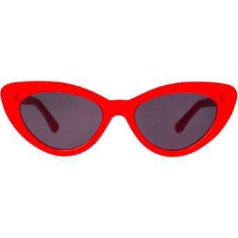 Illesteva Pamela Sunglasses in Red