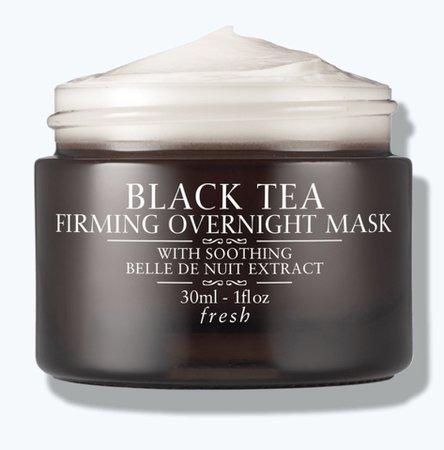 fresh black tea overnight firming mask