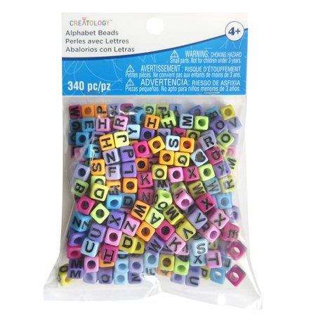 Find the Bright Alphabet Cube Beads By Creatology™ at Michaels