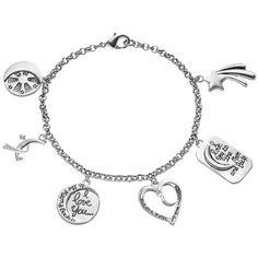 Lilly's charm bracelet