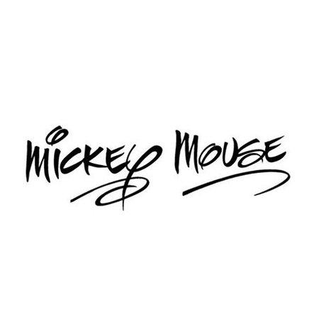 minnie mickey word - Google Search