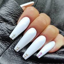 nails with diamonds - Google Search