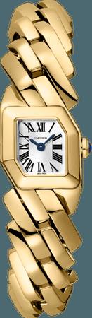 CRWGBJ0002 - Maillon de Cartier watch - Yellow gold - Cartier