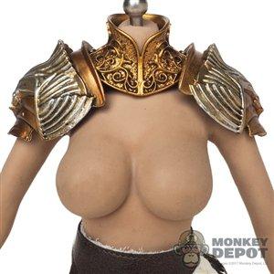 Monkey Depot - Armor: Coo Models Female Gold Neck + Shoulder Armor