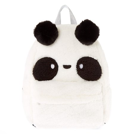 Soft Panda Backpack | Claire's