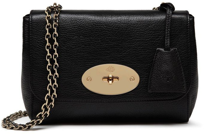 Lily Convertible Leather Shoulder Bag