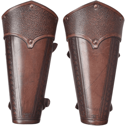 Leather Arm Armor, SCA Arm Armor, LARP Arm Armor, and Functional Arm Armor from Leather Armor, Leather Armour, Steel Armor, SCA armor, LARP armor, Medieval armor, Fantasy armor from Dark Knight Armoury
