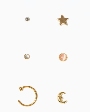 Nose Ring and Stud Pack