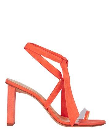 Alexandre Birman | Katie 85 Suede Sandals | INTERMIX®
