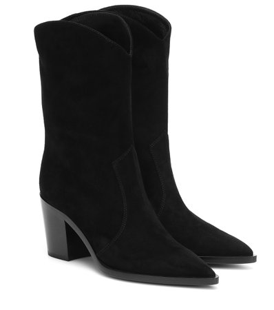 Denver Suede Ankle Boots - Gianvito Rossi | Mytheresa