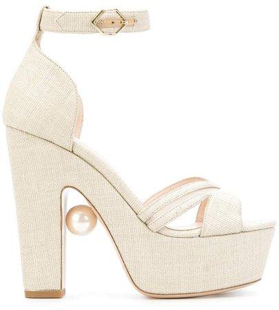 Maya pearl sandals