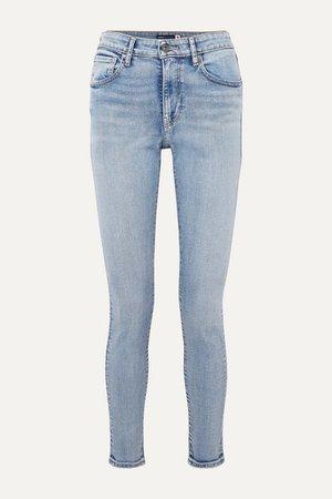 Levi's Made & Crafted   721 high-rise skinny jeans   NET-A-PORTER.COM
