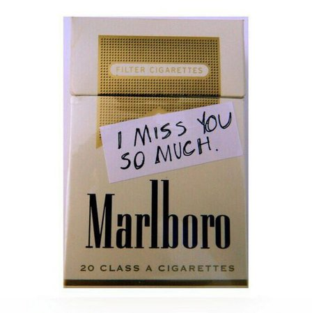 gold cigarettes