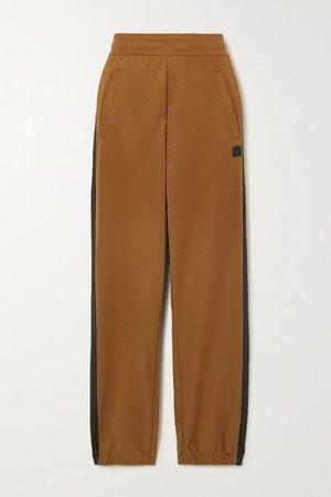 Acne Studios | Prescot Face jersey track pants | NET-A-PORTER.COM