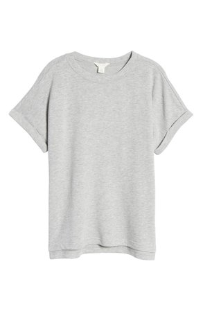 Caslon® Dolman Sleeve French Terry T-Shirt | Nordstrom