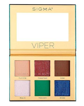 Sigma Beauty | Viper Eyeshadow Palette | Cult Beauty