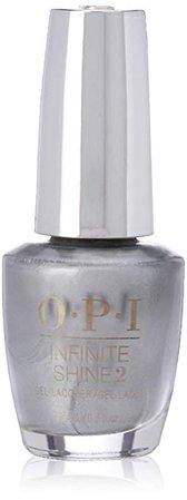 Amazon.com: OPI Infinite Shine, Silver on Ice: Luxury Beauty