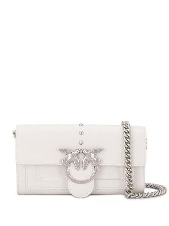 Pinko Love Shoulder Bag 1P21KVY5FFI09 White | Farfetch
