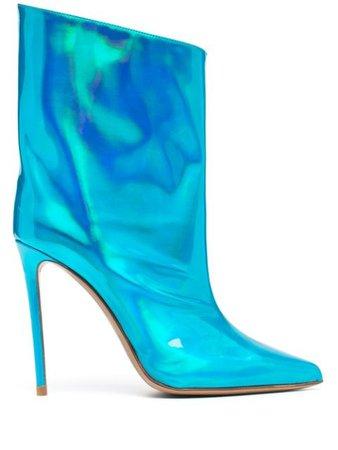 Alexandre Vauthier Alex Hologram Boots - Farfetch