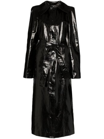 Lemaire Belted Coated Trench Coat - Farfetch