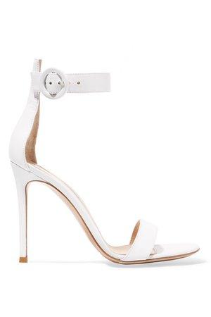 Gianvito Rossi | Portofino 105 leather sandals | NET-A-PORTER.COM
