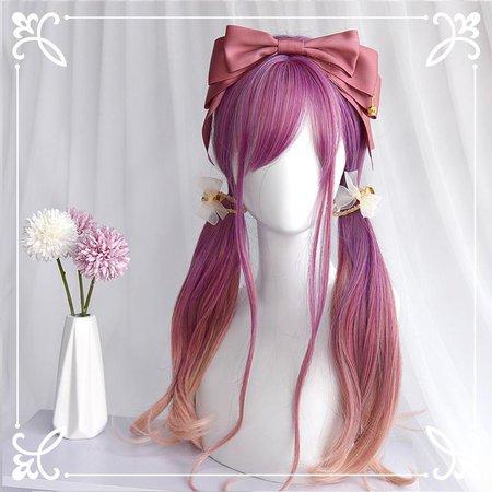 Lolita gradient wig yv42550   Youvimi