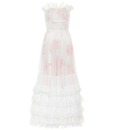 Ruffled Tulle Gown | Giambattista Valli - Mytheresa