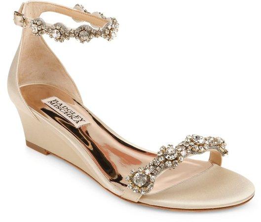 Zion Embellished Ankle Strap Sandal