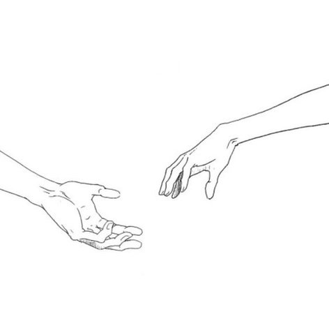 illustrated hand