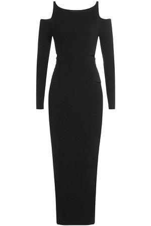 Dress with Cut-Out Shoulders Gr. IT 38